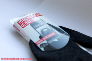 Mujjo Touchscreen Gloves Verpackung