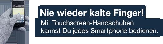 Touchscreen Handschuhe logo