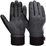VBIGER Handschuhe Herren Winterhandschuhe Damen Winter Warme Fleece Innenfutter Touchscreen Handschuhe für Sport Outdoor Motorrad Laufen Radfahren Mountainbike