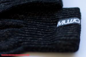 Handschuh Mujjo Detail Branding